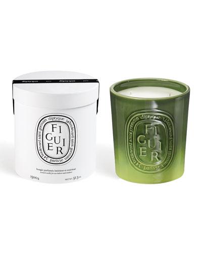 Ceramic Figuier Scented Candle