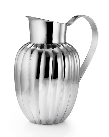 Silhouette Scallop Pitcher