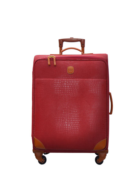 "Red My Safari 25"" Spinner Trolley"