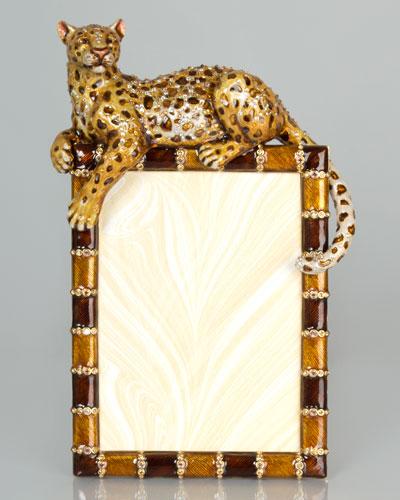 leopard 5 x 7 frame