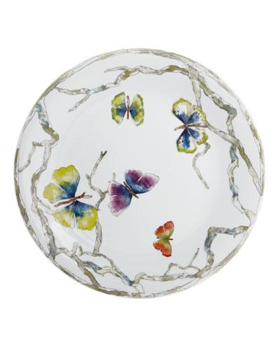 Butterfly Ginkgo Dinner Plate