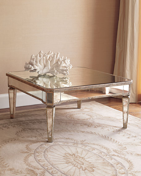 Amelie Mirrored Coffee Table