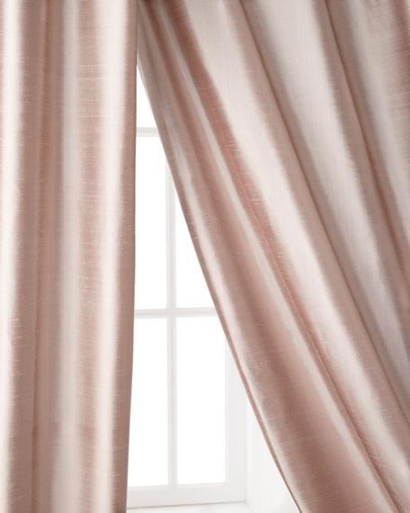 "Radiance Silk Curtain, 96""L"