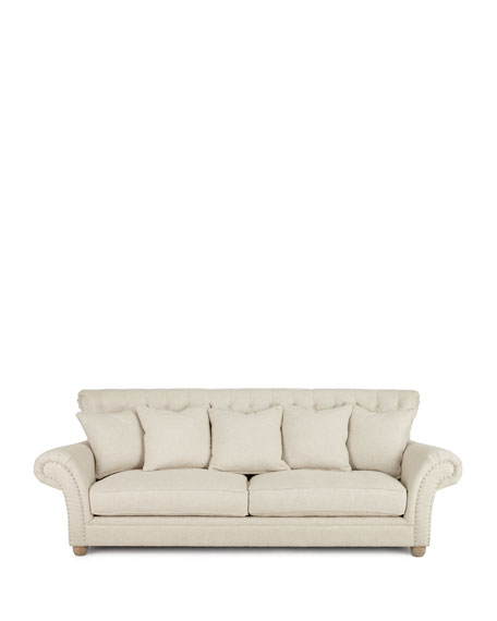 Dorothy Tufted-Back Sofa