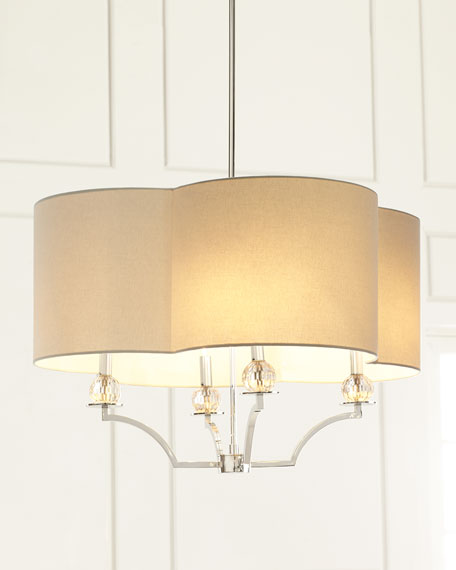 Hannah Crystal-Accent Pendant Light