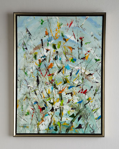 The Confetti Garden Original Oil Painting