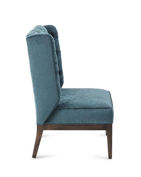 Zaza Tufted-Back Chair