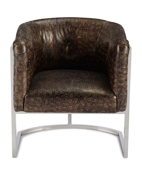 Trevor Leather Dining Chair