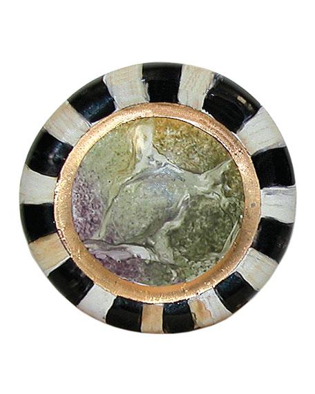 Cheltenham Round Majolica Decorative Knob
