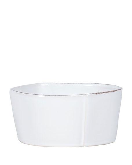 Lastra White Medium Serving Bowl