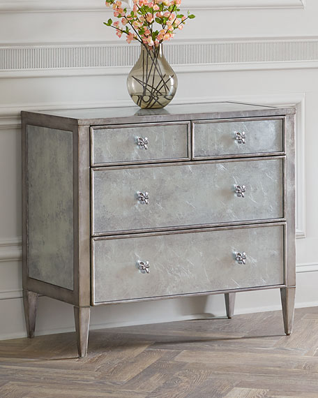 Beau Hooker Furniture Ujano Mirrored Chest