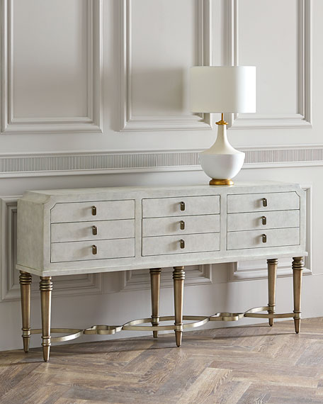 Aubree 6-Drawer Console