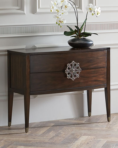 Lolita Medallion 2-Drawer Console