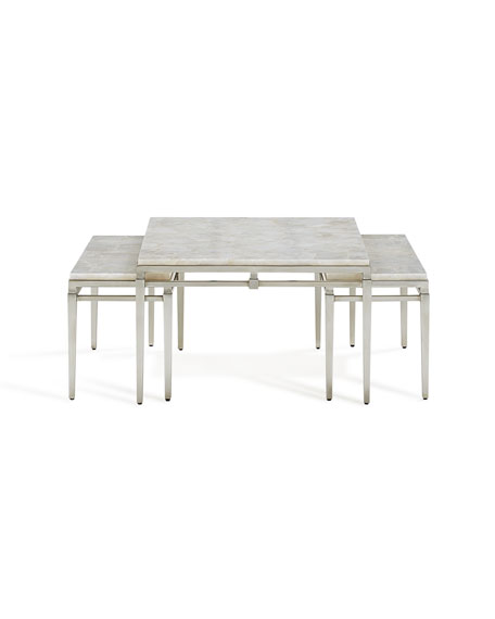 Kelso Stone Nesting Tables