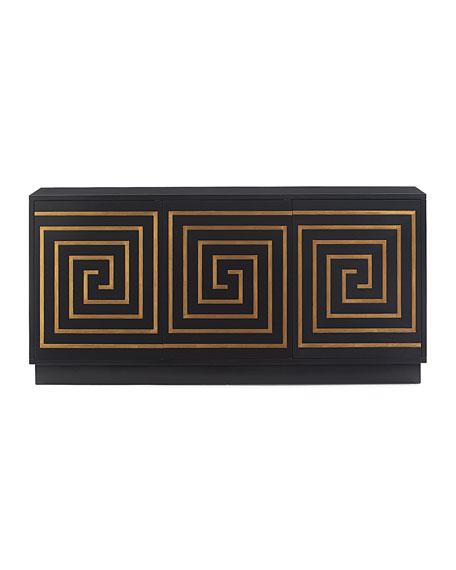 Adela Greek Key Console