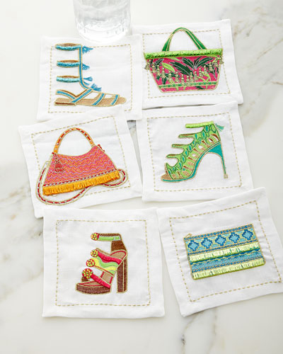 Fiesta Cocktail Napkins, Set of 6