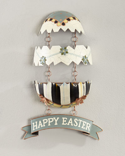 Cracked Egg Easter Wall Hanging