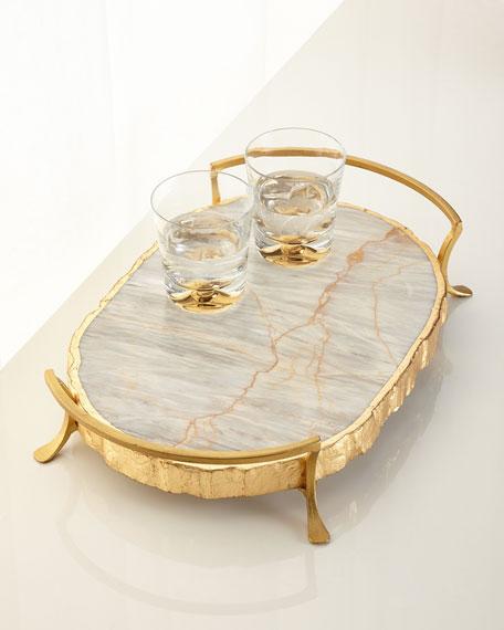 Century Marble Tray