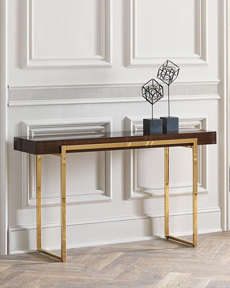 Cronyn Veneer Console Table