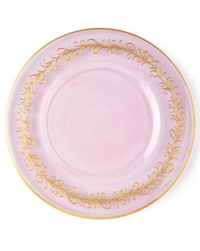 Blush Oro Bello Charger Plates  Set of 4