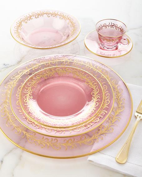 Blush Oro Bello Soup Bowls, Set of 4