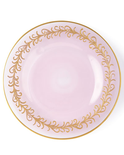 Blush Oro Bello Salad Plates  Set of 4