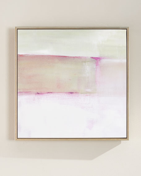 Couture No. 1 Square Giclee on Canvas Wall Art