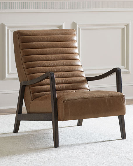 Quick Look. prodSelect checkbox. Aston Leather Chair & Top Grain Leather Chair | horchow.com