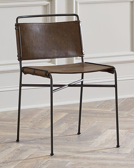 Merveilleux Nicholas Leather Dining Chair