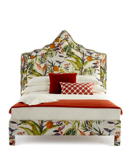 Bryony Floral Queen Bed