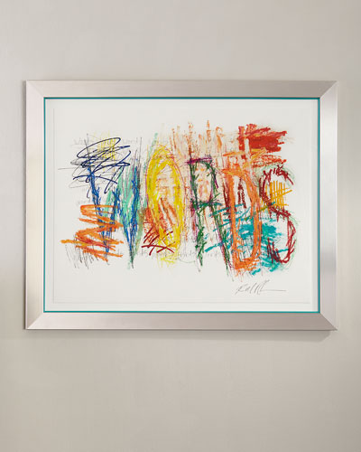 Mark My Word 4 Giclee on Paper Wall Art
