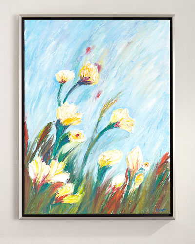 Petal Bloom Original Painting
