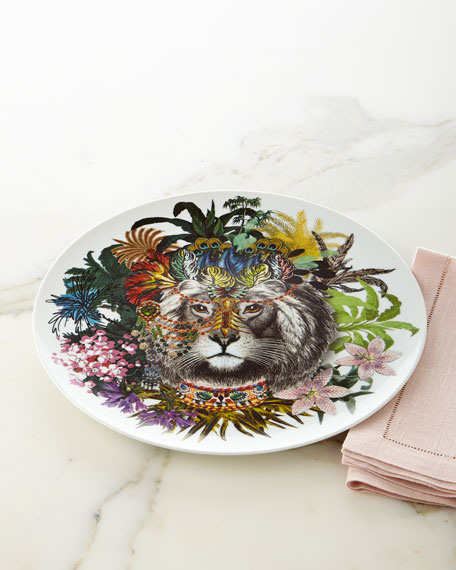 Jungle King Charger Plate