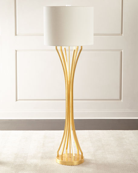 Floor Lamps Crystal Amp Brass Floor Lamps At Neiman Marcus