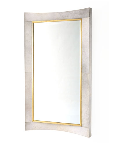 Curved Hairhide Mirror