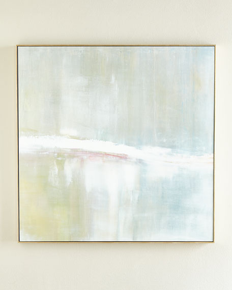 """Refuge"" Square Giclee on Canvas Wall Art"