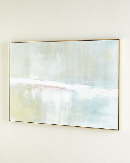 """""""Refuge"""" Horizontal Embellished Original Painting"""