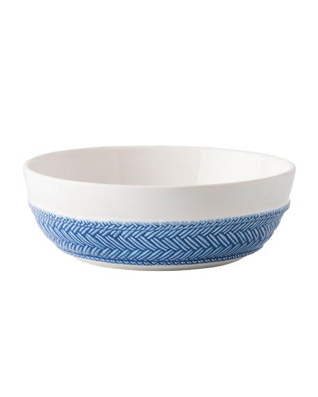 Le Panier White/Delft Blue Pasta/Soup Bowl