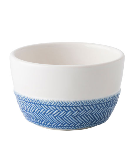 Le Panier White/Delft Blue Ramekin