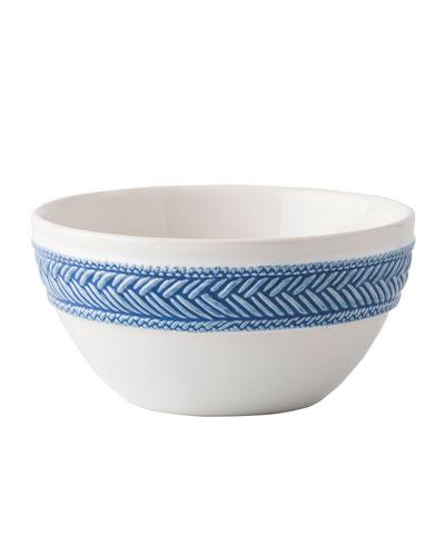 Le Panier White/Delft Cereal/Ice Cream Bowl