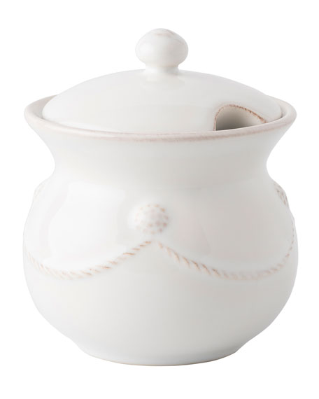 Berry & Thread Whitewash Sugar Pot