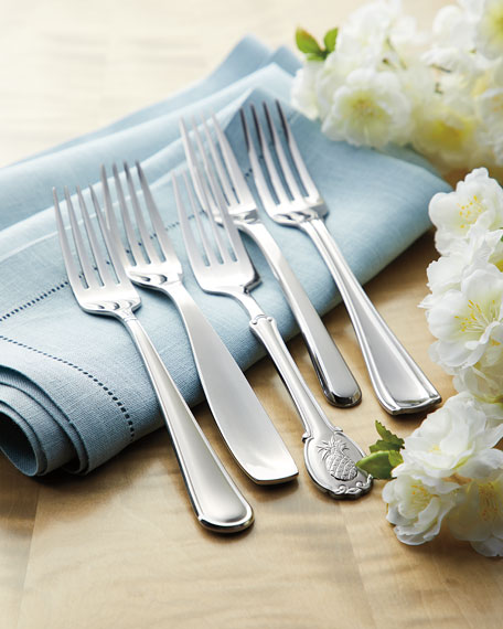 45-Piece Pineapple Flatware