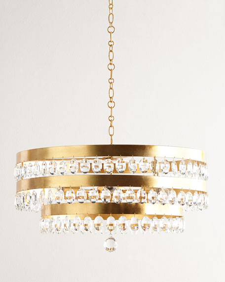 Crystorama Perla 6-Light Chandelier