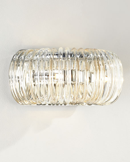 Beaming Around Wall Sconce