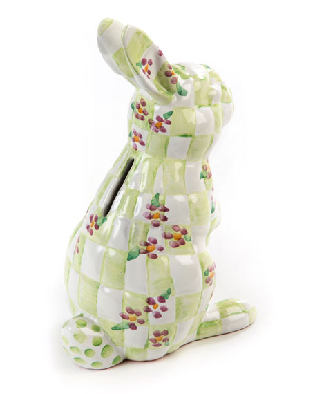 Quilted Bunny Bank