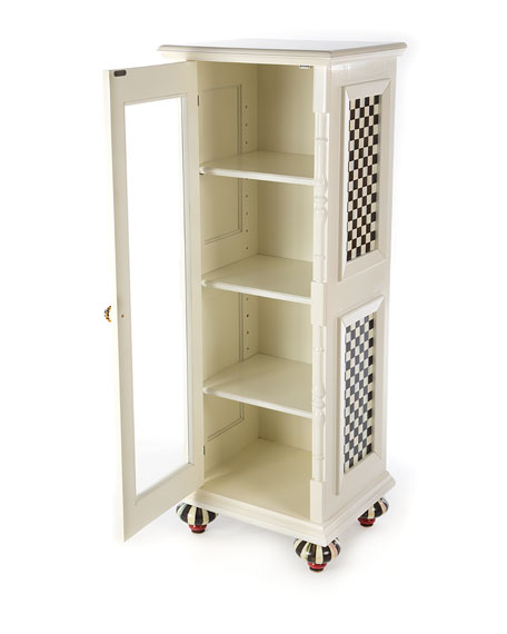 Courtly Check Apothecary Cabinet