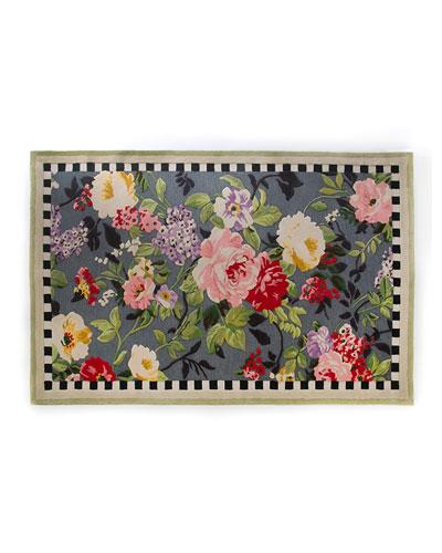 Tudor Rose Rug  5' x 8'