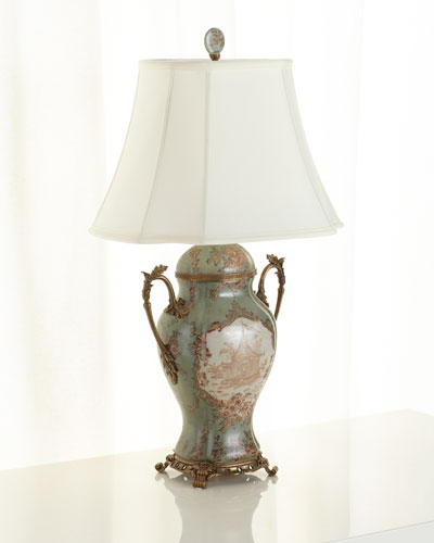 Porcelain Trophy Lamp
