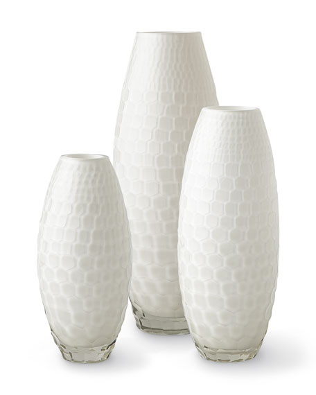 Tall Ombari Honeycomb Vase