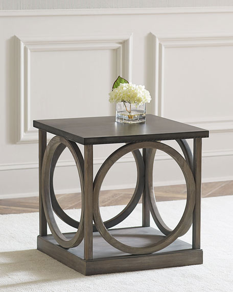 Captivating Leonie End Table